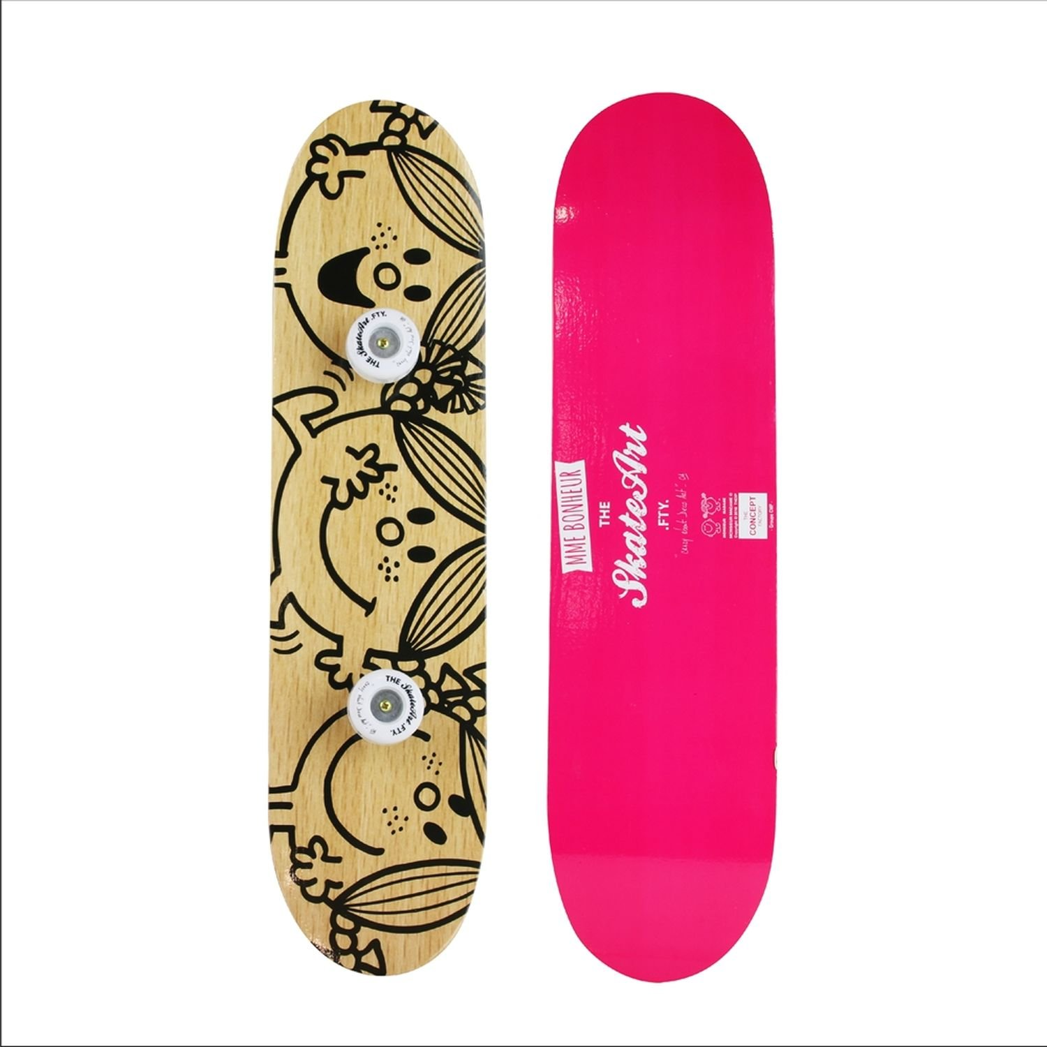 The Home Deco Factory Perchero Skate Mme & Mrs - 60 x 15 cm ...