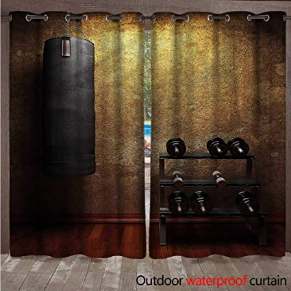 Amazon blountdecor fitness outdoor curtain panel for patio