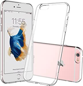 Shamo's Case for iPhone 6 Plus and iPhone 6S Plus Crystal Clear Shock Absorption TPU Rubber Gel Transparent (Clear)