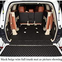 QRSLHYA For Toyota Land Cruiser 2009 2010 2011 2012 2013 2014 2015 2019 Lc200 200,Car Trunk Mat Cargo Liner