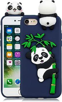 HopMore Compatible con Funda iPhone 7 / iPhone 8 / iPhone SE 2020 Silicona Dibujo 3D Divertidas TPU Gel Kawaii Ultrafina Slim Case Antigolpes Caso Protección Design Carcasas Gracioso: Amazon.es: Electrónica