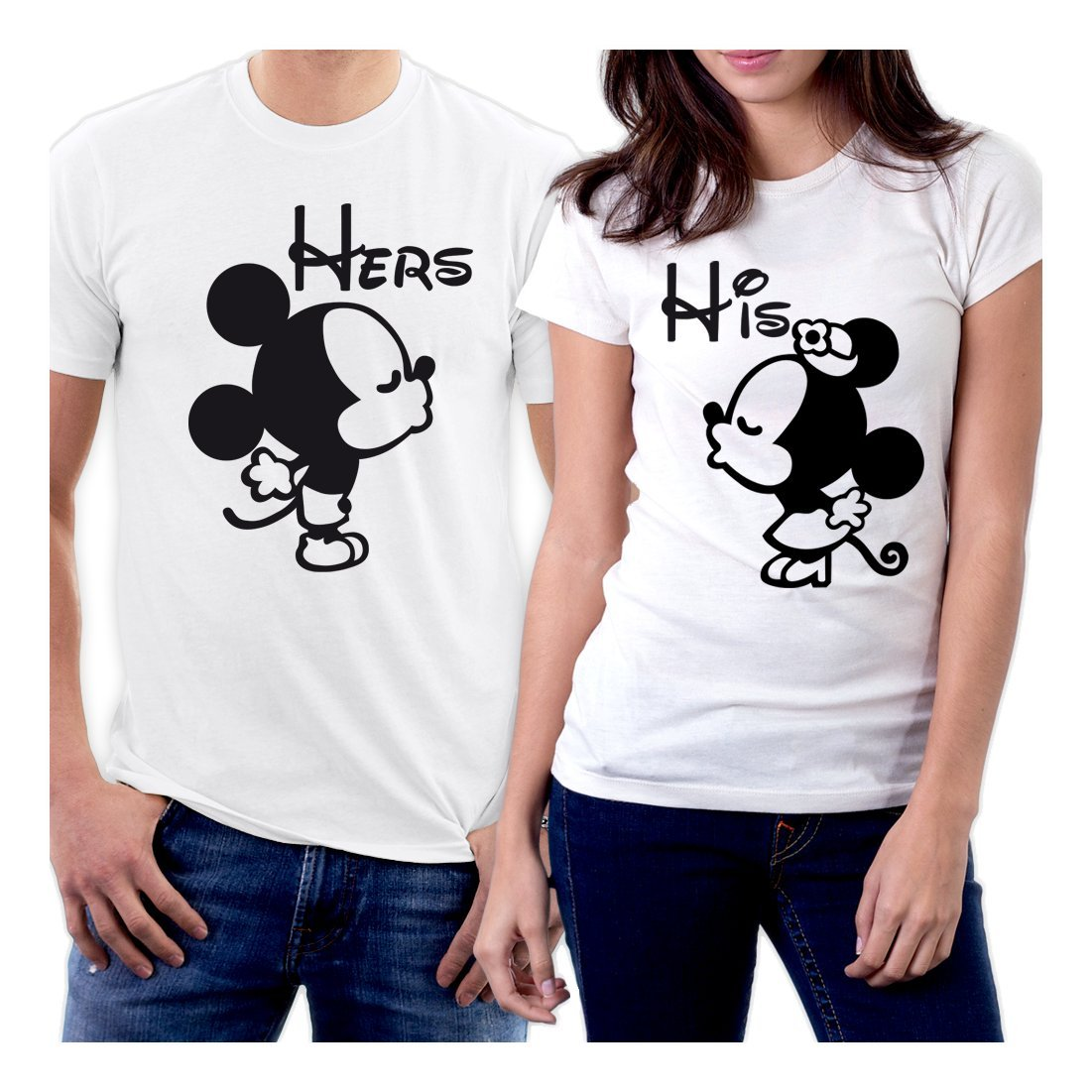 Picontshirt Funny Matching Couple Lover Novelty T Shirts Design 152