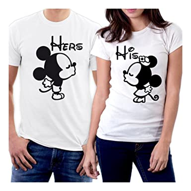 picontshirt Funny Matching Couple Lover Novelty T-Shirts Design 152 ...