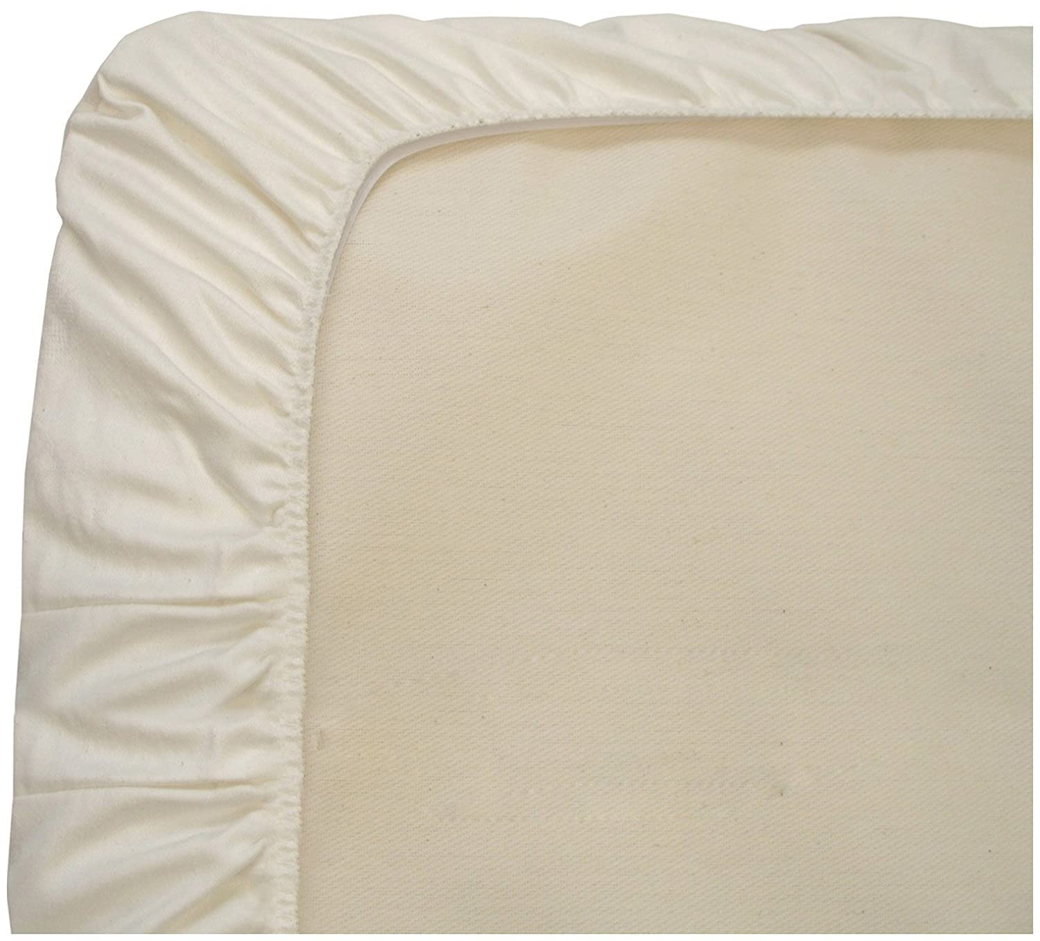 PC63W KID/_PPPP/_5252 Waterproof Fitted Naturepedic Organic Crib Protector Pad
