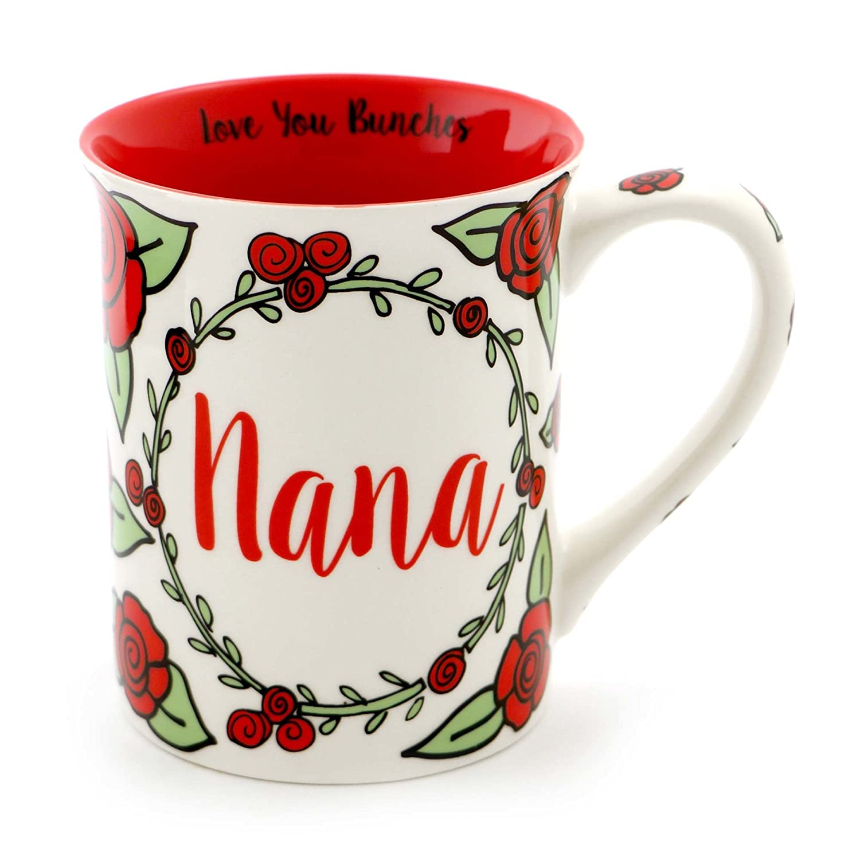 "Our Name is Mud ""Amazing Grandfather"" Stoneware Coffee Mug, 16 oz. Enesco 4058976"