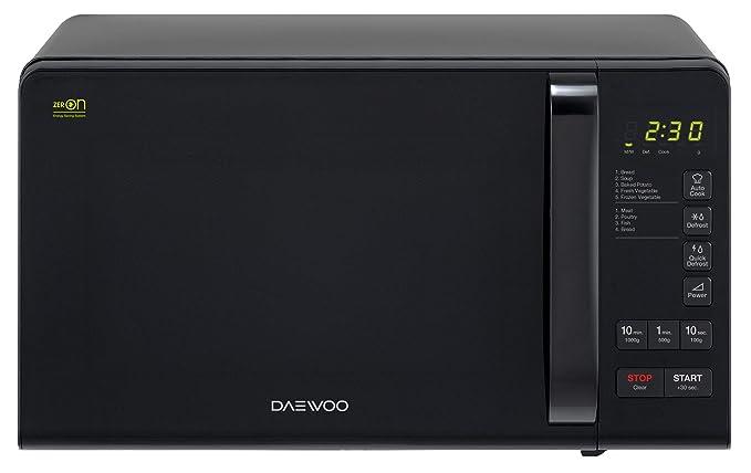 Microondas 800w negro Daewoo: Amazon.es: Grandes ...