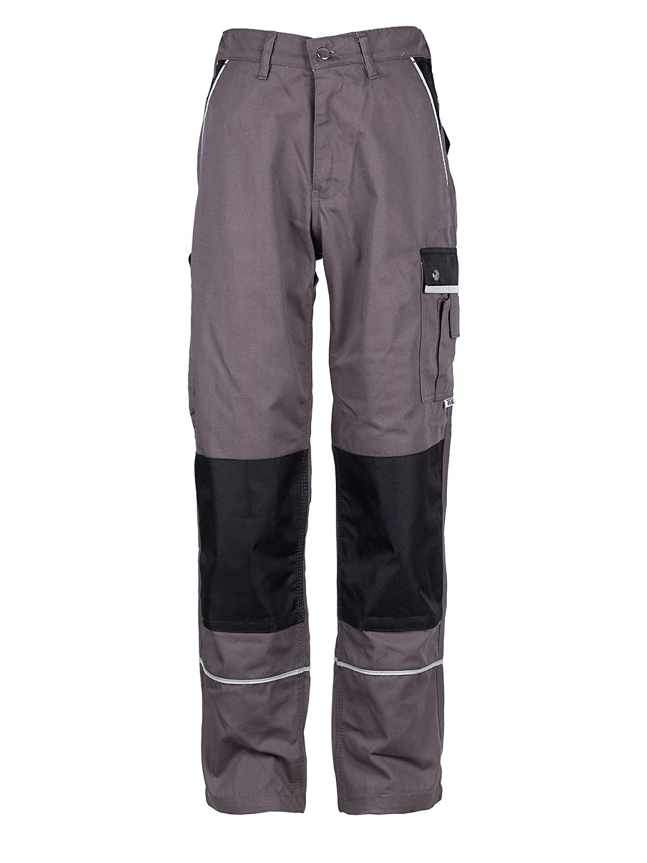 Workwear Express Trust Us With Your Name Pantaloni da Lavoro Cargo - Tasche per Ginocchiere - Tedesco qualità - Uomo - Nero TMG 3010