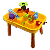 Sand and Water Play Activity Table with Accessories
