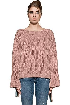 7ef1e3e6763 Pinko 1G13EB Y2TT/P33 Sweaters Woman Pink XS: Amazon.co.uk: Clothing