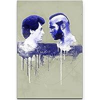 Paul Sinus Art Rocky Balboa Splash Art - Quadro da Parete, 90 x 60 cm