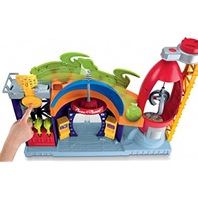 Fisher-Price Imaginext Disney/Pixar Toy Story Pizza Planet Playset: Toys & Games