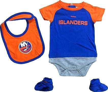 new concept cea4e 3074a Amazon.com: New York Islanders Lil Jersey Creeper, Bib ...