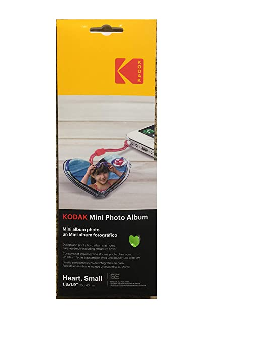 Amazon.com: KODAK Mini Photo Album Small Heart: Office Products