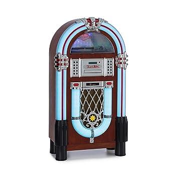 auna Graceland Dab Jukebox - Bluetooth, Reproductor de CD ...