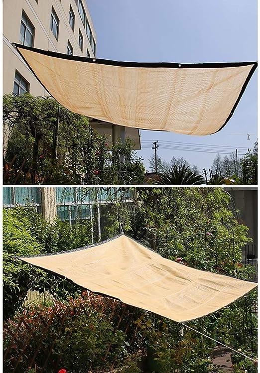 YOUDAN - Toldo de protección UV, Cortavientos para jardín, con una tasa de Sombra de 95%, para Aparcamiento Exterior Rectangular, plástico, 4x6m: Amazon.es: Hogar