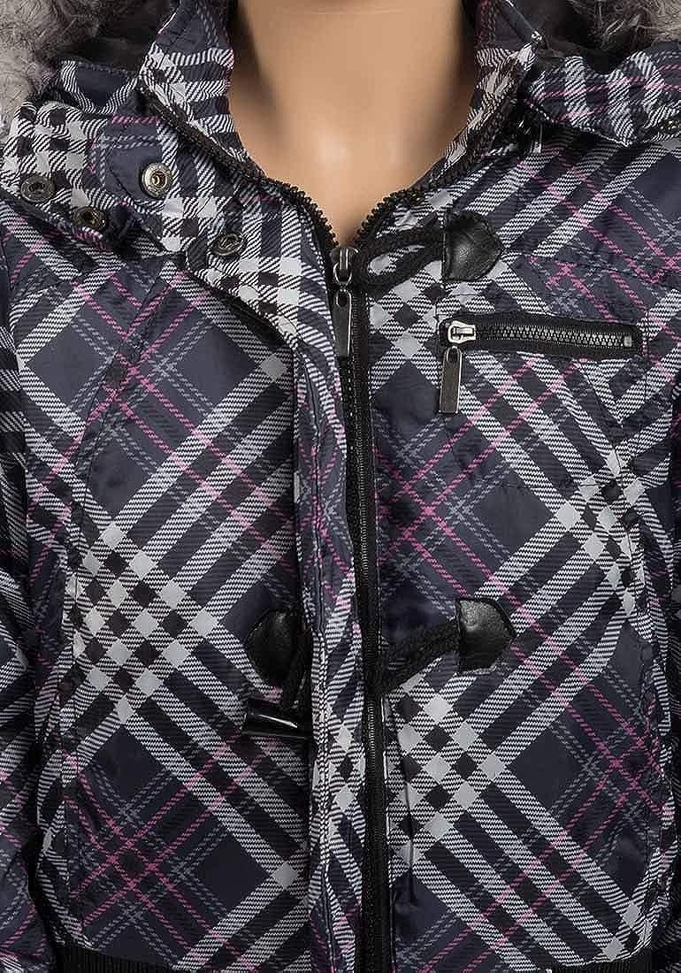 Brave Soul Check Padded Jacket