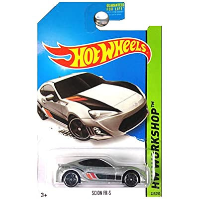 Hot Wheels 2014 Hw Workshop Then and Now Silver Scion FR-S 227/250: Toys & Games