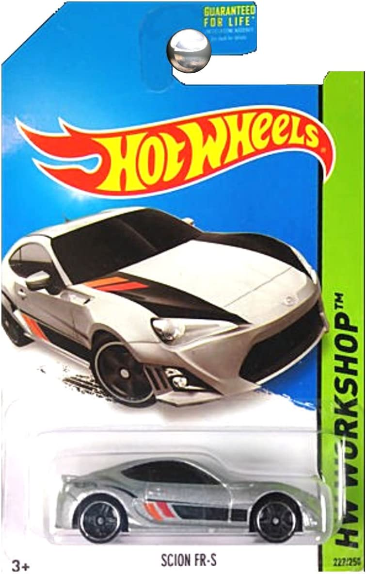 2014 Hot Wheels G4 SILVER Scion FR-S #227