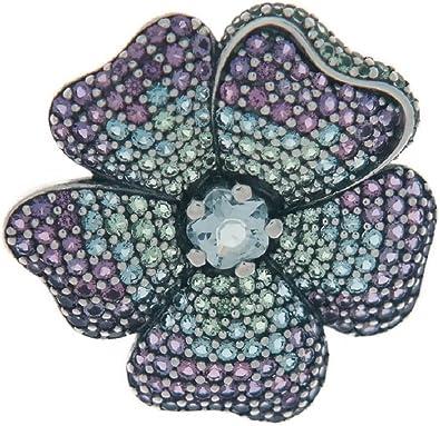 Pandora Femme Argent Broche - 397081NRPMX: Amazon.fr: Bijoux