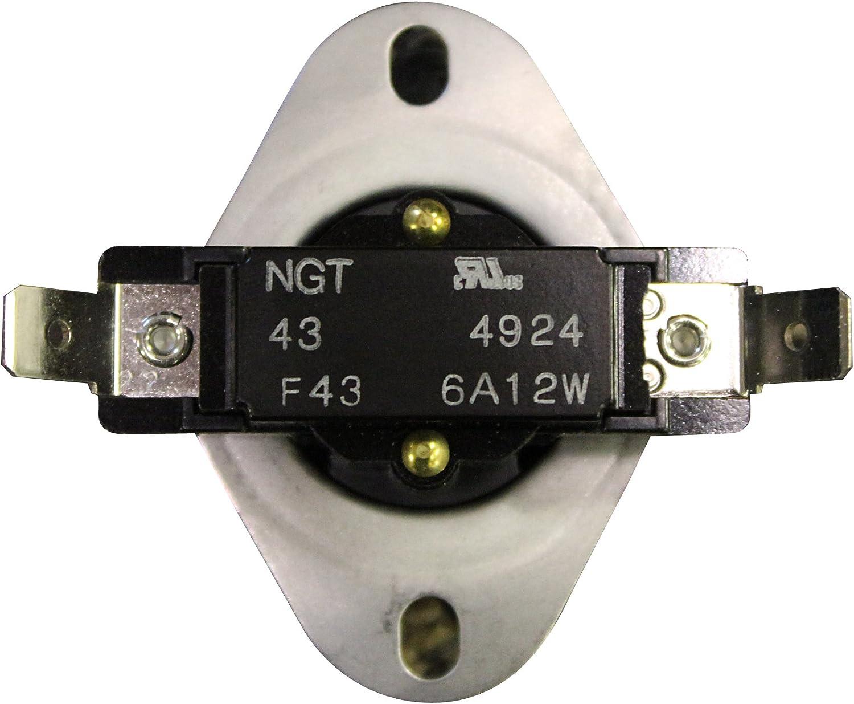 80455 US Pellet Stove F1250 High limit Sensor Switch Disc PelletStovePro