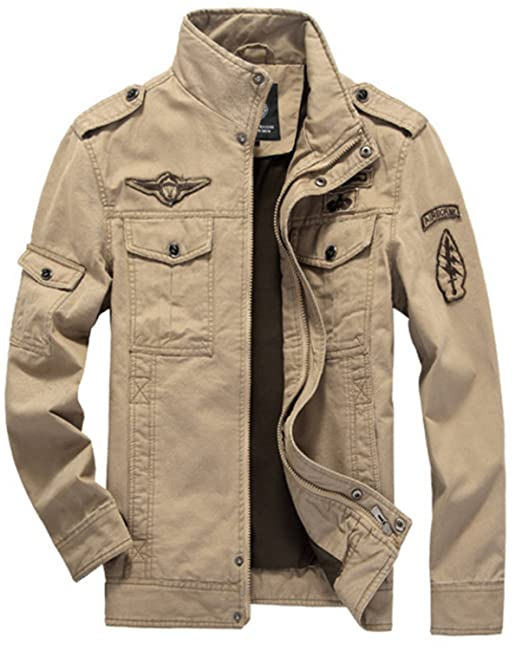 SHUNLIU Chaquetas Hombre de la Moda Chaquetas Hombre Casual de Otoño Jackets: Amazon.es: Ropa y accesorios