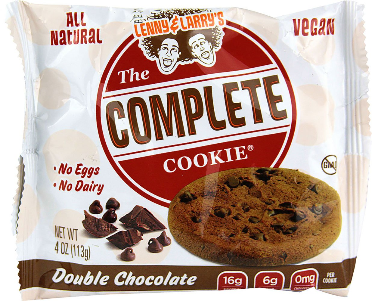 Lenny & Larry's The Complete Cookie, Double Chocolate, 4-Ounce Cookies (Pack of 24)