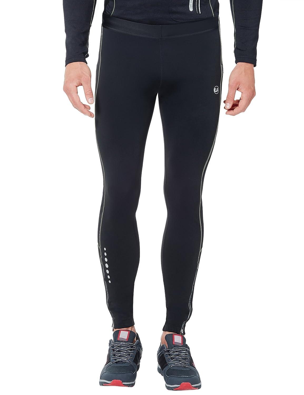 TALLA S. Ultrasport Pantalones largos de correr para hombre, con efecto de compresión y función de secado rápido