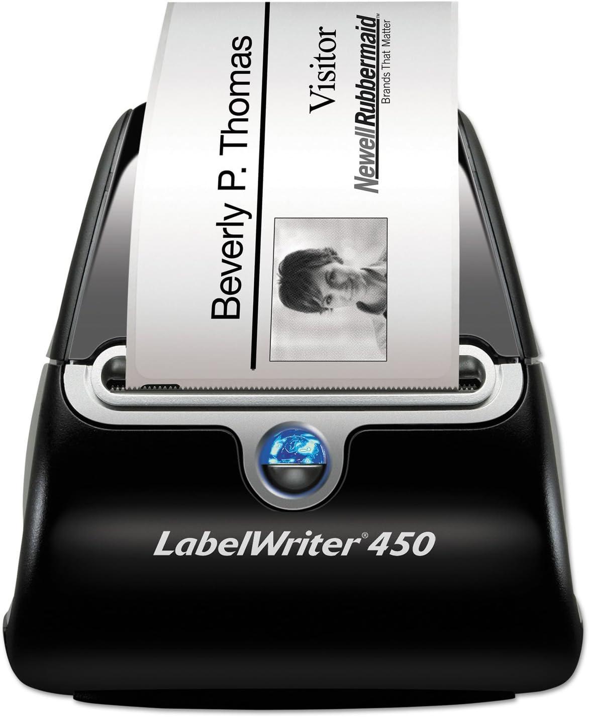 5w x 7 2//5d x 5 1//5h DYMO 1752264 LabelWriter Printer 2 3//10-Inch Labels 51 Labels//Min