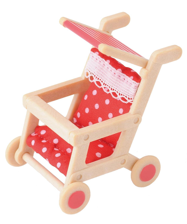 Sylvanian Families 2930 - Kinderwagen Puppenzubehör EPOCH Traumwiesen B004P1IPKM Puppen / Sonstiges Zubehör