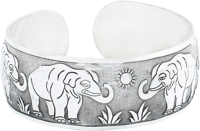 Dexterity African Elephants Hair Bracelets Style Brass,Copper Bangle