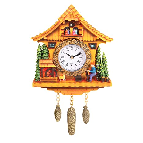 Amazon.com: Swiss Cottage reloj: Home & Kitchen