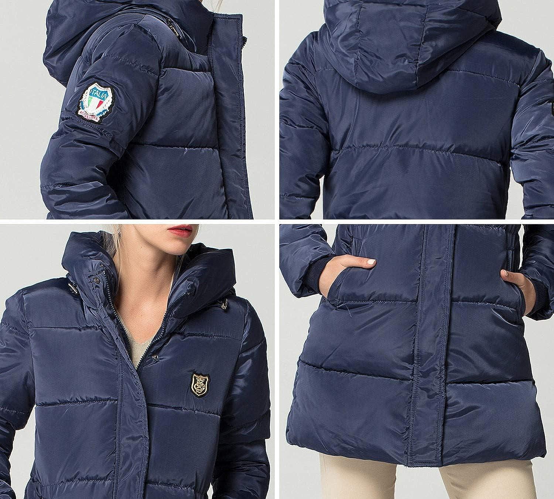 Amazon.com: Summer-lavender Long Down Parkas Winter Coat ...