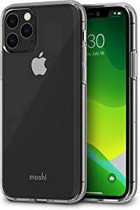 Moshi Vitros for iPhone 11 Pro Case 5.8-inch, Military Drop Protection, Flexible TPU, Slim Thin Phone Cover for iPhone 11 Pro, Crystal Clear