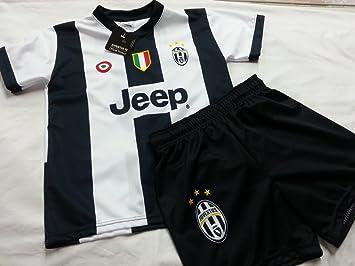 Complet Maillot Short Juve Juventus Dybala Enfant Réplique Officielle 16 –  17 (2 ... 8454e7ac0d4a