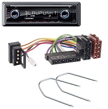 caraudio24 Blaupunkt Stockholm 370 DAB BT CD DAB Bluetooth MP3 USB Autoradio f/ür Mercedes E-Klasse W124 S-Klasse W126