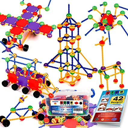 Amazon.com: STEM Master 176 piezas STEM aprendizaje ...