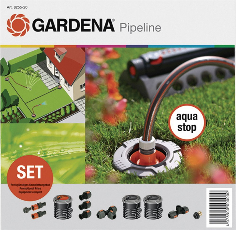 Gardena Pipeline Start-Set, 10-Teilig