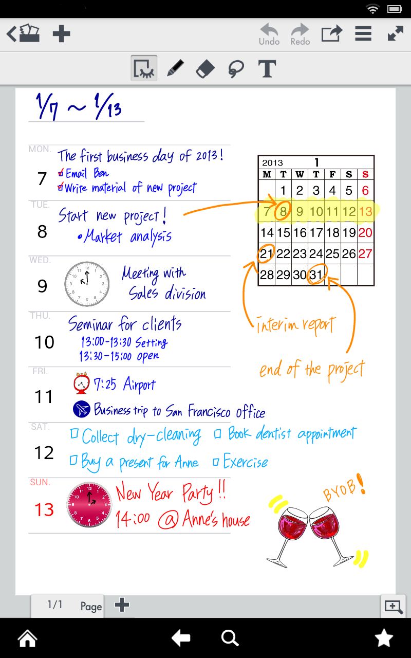 Note Anytime (Kindle Tablet Edition)