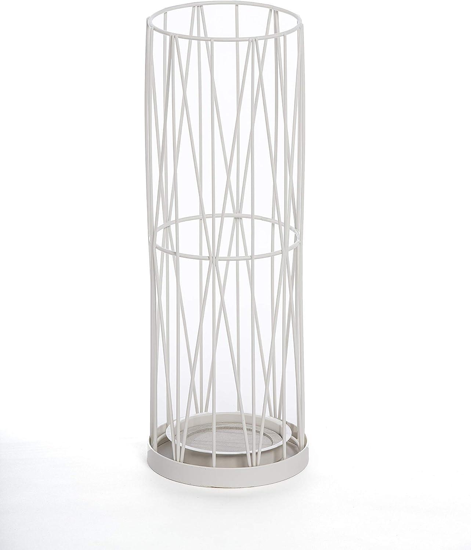 Mango Steam Pluvian Soakstone Umbrella Holder, 46 cm Tall (White)