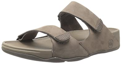88dc8e232d01 FitFlop Mens Gogh Slide (Adjustable) Sandal