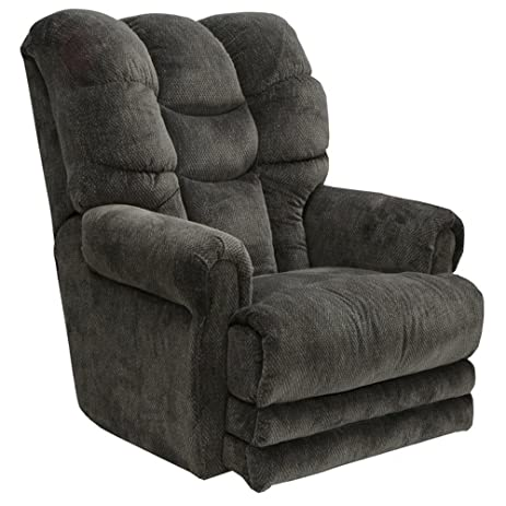 Attrayant Catnapper Malone Fabric Oversized Power Lay Flat Recliner