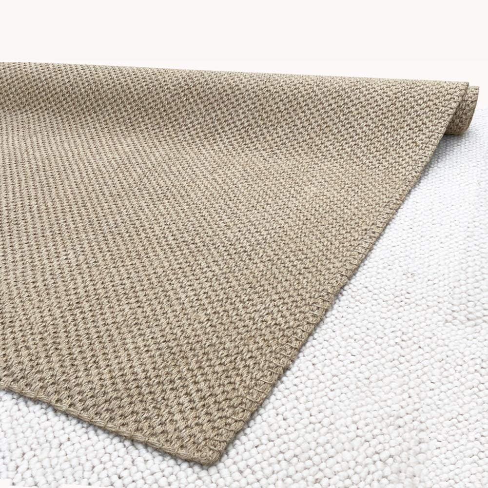 alfombra WXF sisal Natural para Dormitorio de Pasillo de Cocina ...