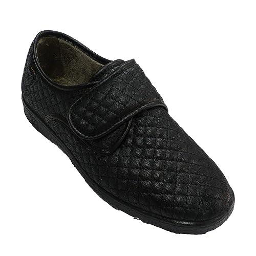Zapatilla Velcro Mujer Tipo Zapato Doctor Cutillas en Negro: Amazon.es: Zapatos y complementos