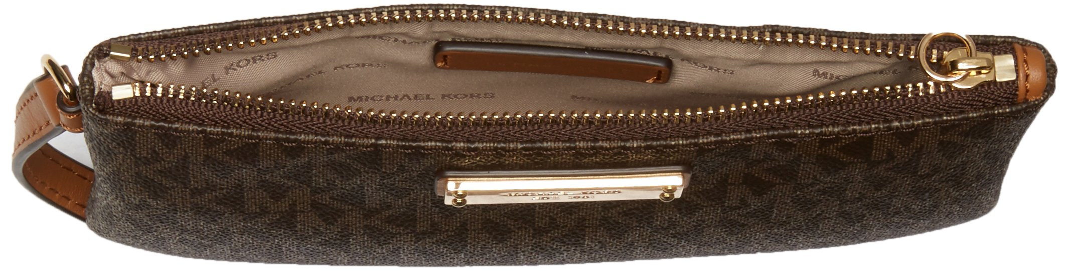 f3eb9a306363 MICHAEL Michael Kors Signature Jet Set Item Medium Wristlet ...