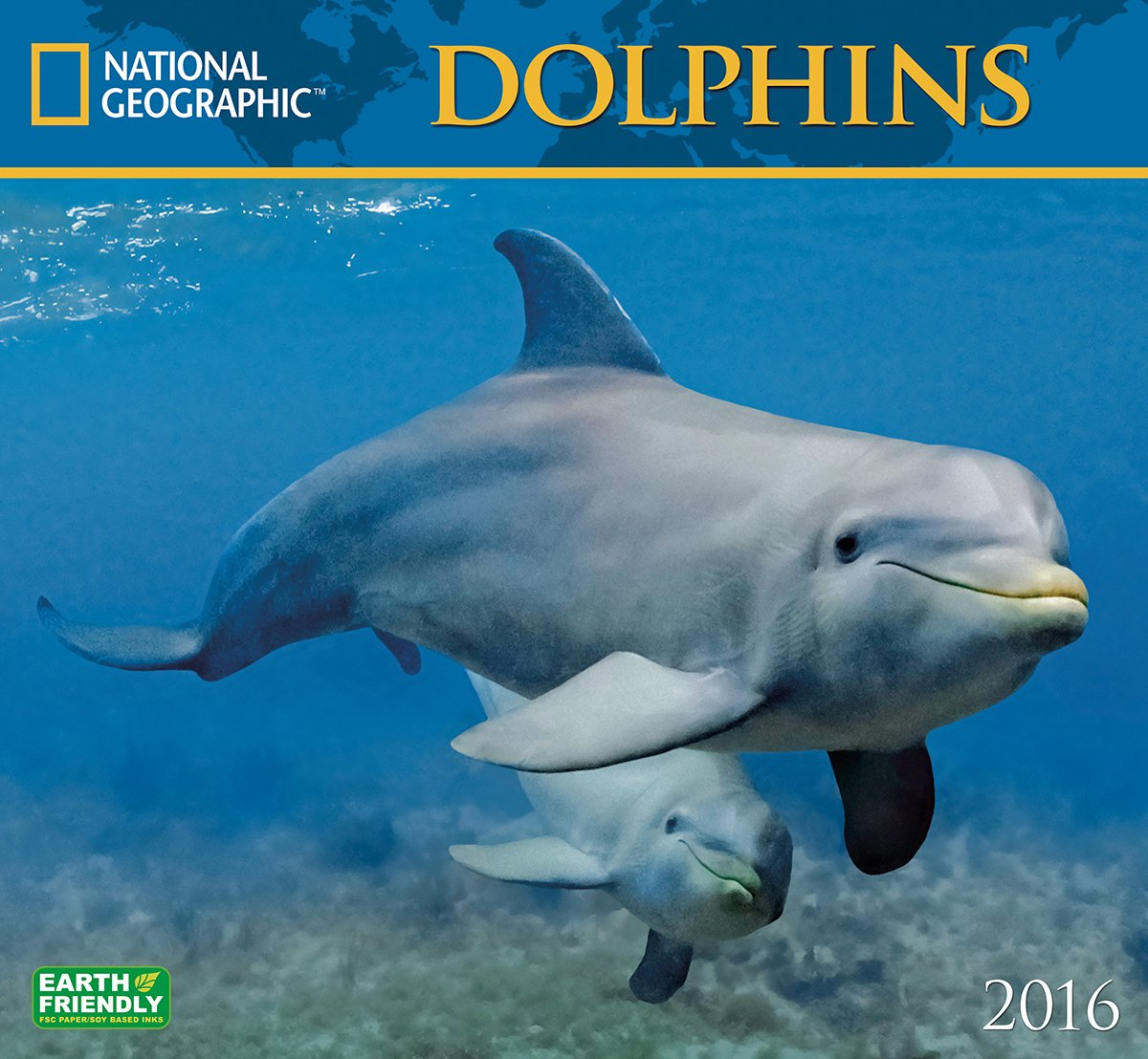 Read Online Dolphins National Geographic 2016 Wall Calendar pdf