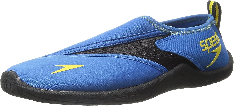 B011PLQRG8 Speedo Men's Water Shoe Surfwalker Pro 3.0,Blue/Black,10 Mens US 71yvx9-BeTL