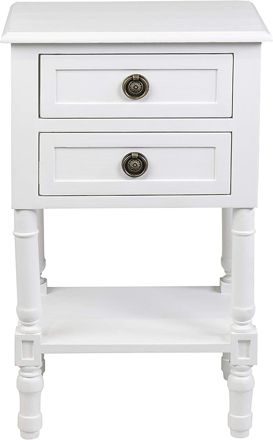 East at Main Nova bedside table, White