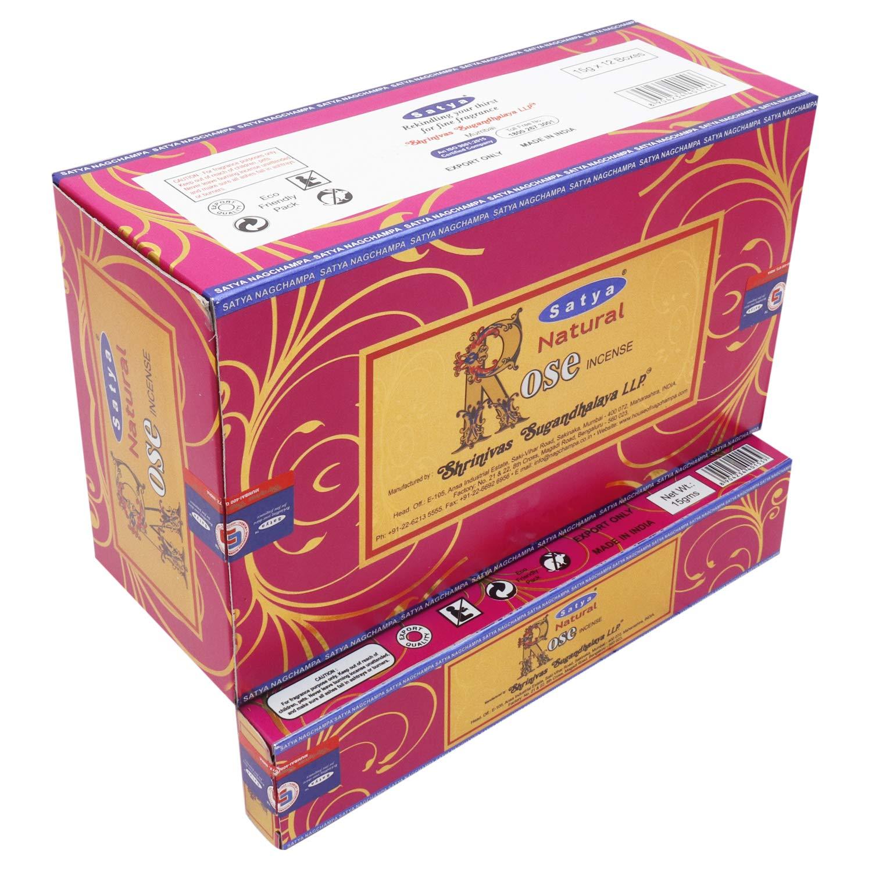 60 Grams Nag Champa /&180 Grams Super Hit Incense 16 Boxes 15 Grams per Box Fresh
