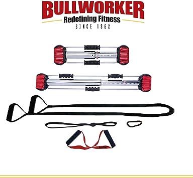 Bullwork Pro Pack - Entrenamiento completo para el cuerpo – Entrenamiento completo en casa gimnasio; equipo de ejercicio isométrico portátil para entrenamiento de fuerza y flexibilidad. Fitness compacto para viaje.: Amazon.es: Deportes