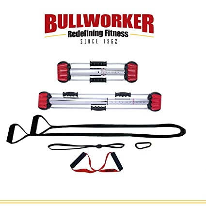 Bullworker Pro Pack - Full Body Workout - Complete Cross Training Home Gym